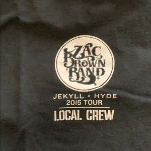 Other - Zac Brown Band Crew Only Concert Shirt